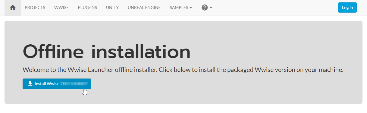 Working with Offline Installers