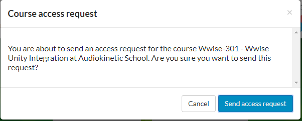 Getting the 301 Course License