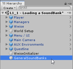 Loading a SoundBank