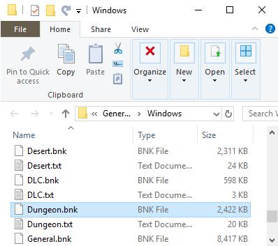 Saving a Decoded SoundBank