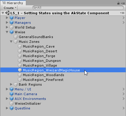 Setting States using the AkState Component